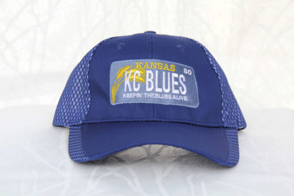 KC Blues Kansas license plate front view
