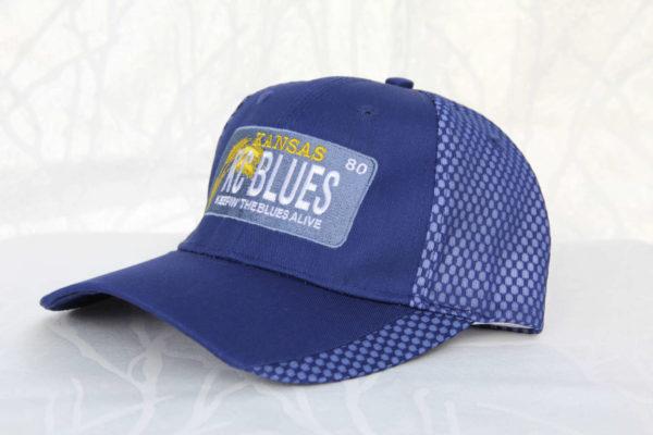 KC Blues Kansas license plate side view
