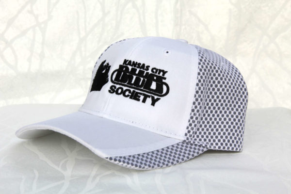 KCBS logo hat side view