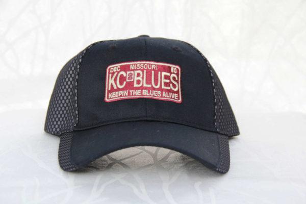 KC Blues Missouri license plate front view