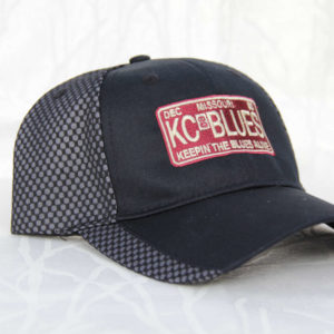 KC Blues Missouri license plate side view
